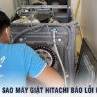 Vì sao máy giặt Hitachi báo lỗi F9